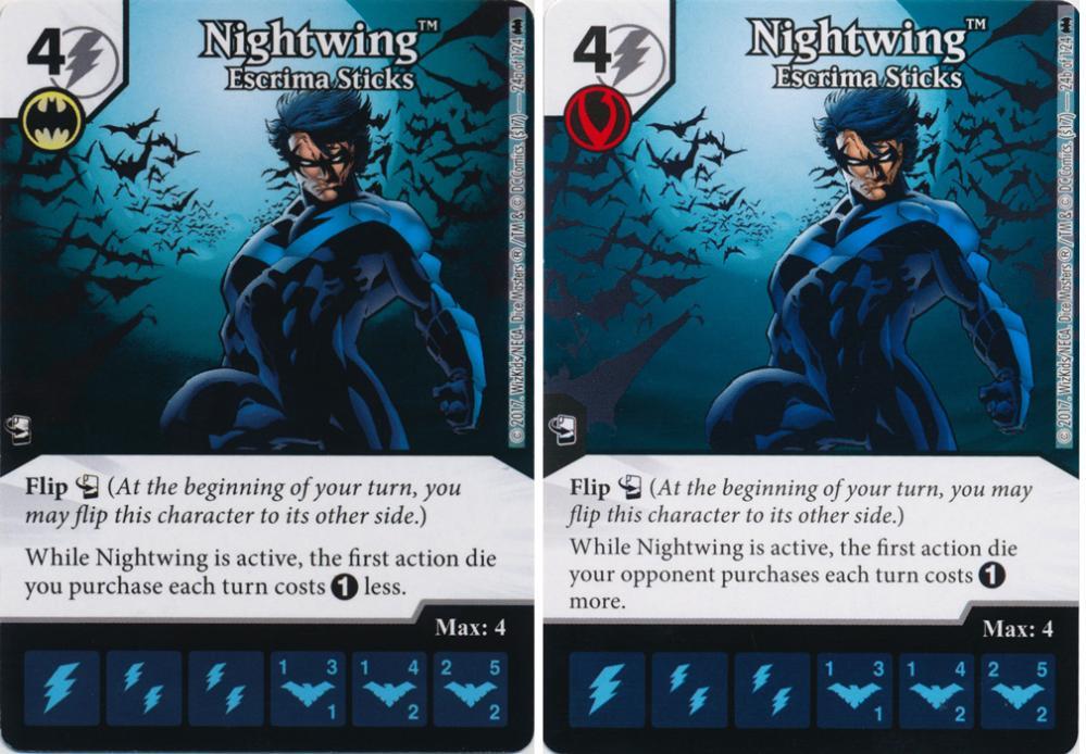 The Dice Coalition Wiki | Nightwing: Escrima Sticks