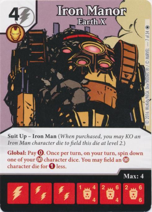 The Dice Coalition Wiki | Iron Manor: Earth X