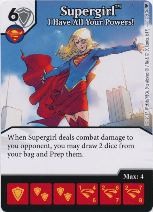 The Dice Coalition Wiki | Supergirl: I Have All Your Powers!